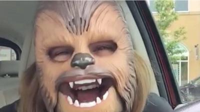 Chewbacca mask