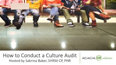 How to Conduct a Culture Audit