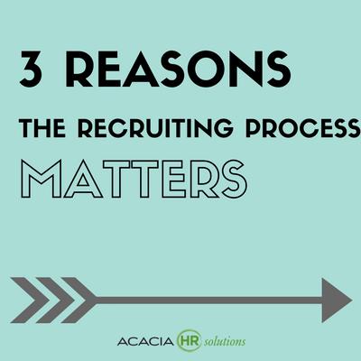 recruiting process matters