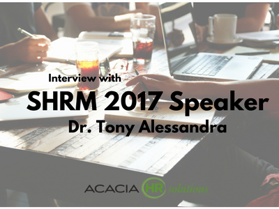 Interview with SHRM17 Speaker