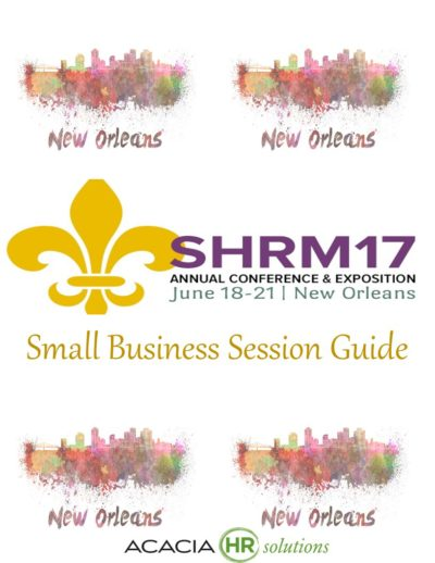 SHRM Small Biz Session Guide