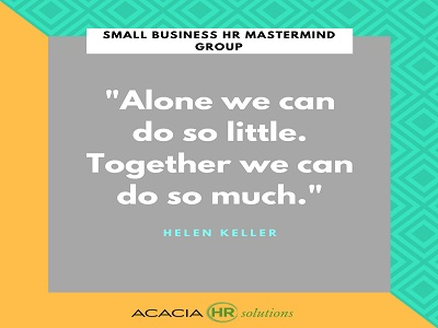 small business hr mastermind group