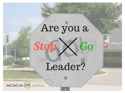 stop and go leadership