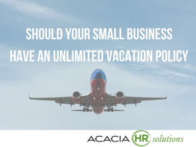 Should Your Small Business Have an Unlimited Vacation Policy