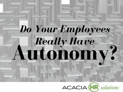 Do Your Employees Really Have Autonomy?