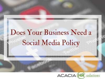 Does Your Business Need a Social Media Policy
