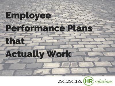 employee work plans