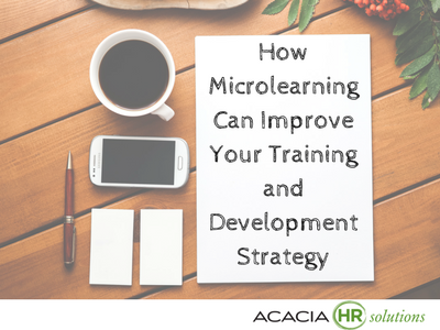 Learn how to use microlearning in designing and developing effective human resource methods for a staff training development plan and learning program for employees