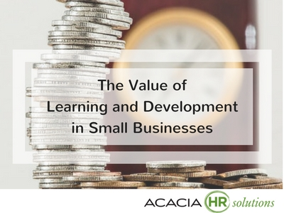 Discover the value and benefits of human resources employee training strategy, learning programs and HR staff development process plans for small businesses.