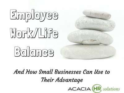 Discover tips, ideas, benefits, advantages and the importance of employee work life balance strategies, policy, programs and activities for small business companies.